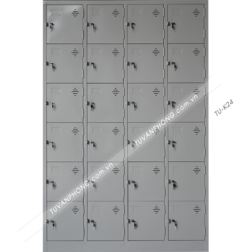 Tủ Locker 24 cánh TU-K24